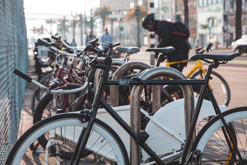 commuter bike racks