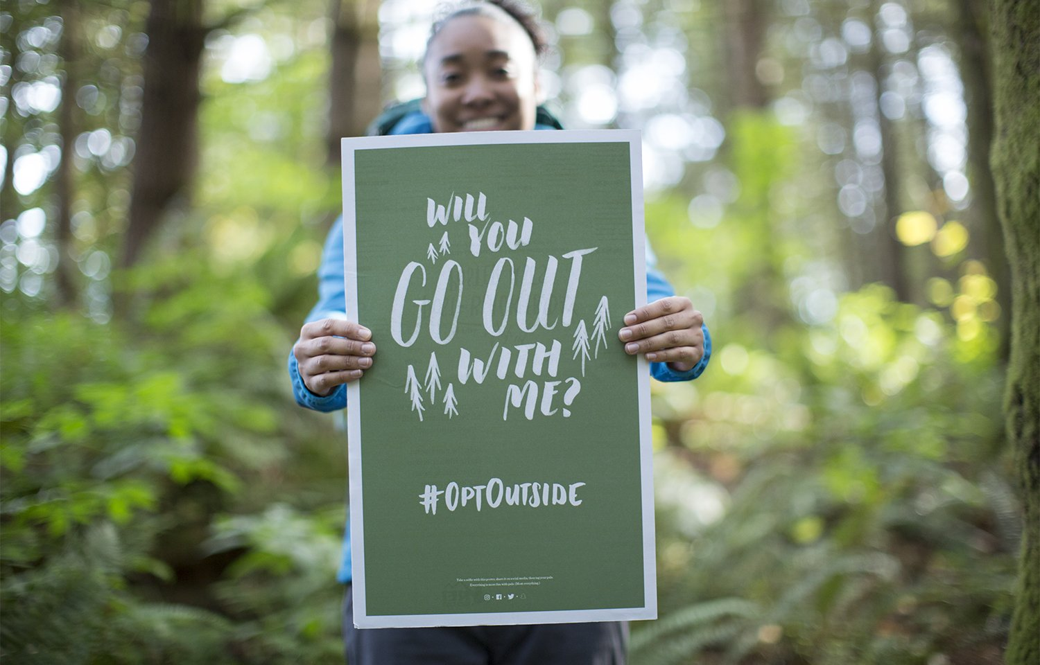 REI's go outside campaign for Black Friday