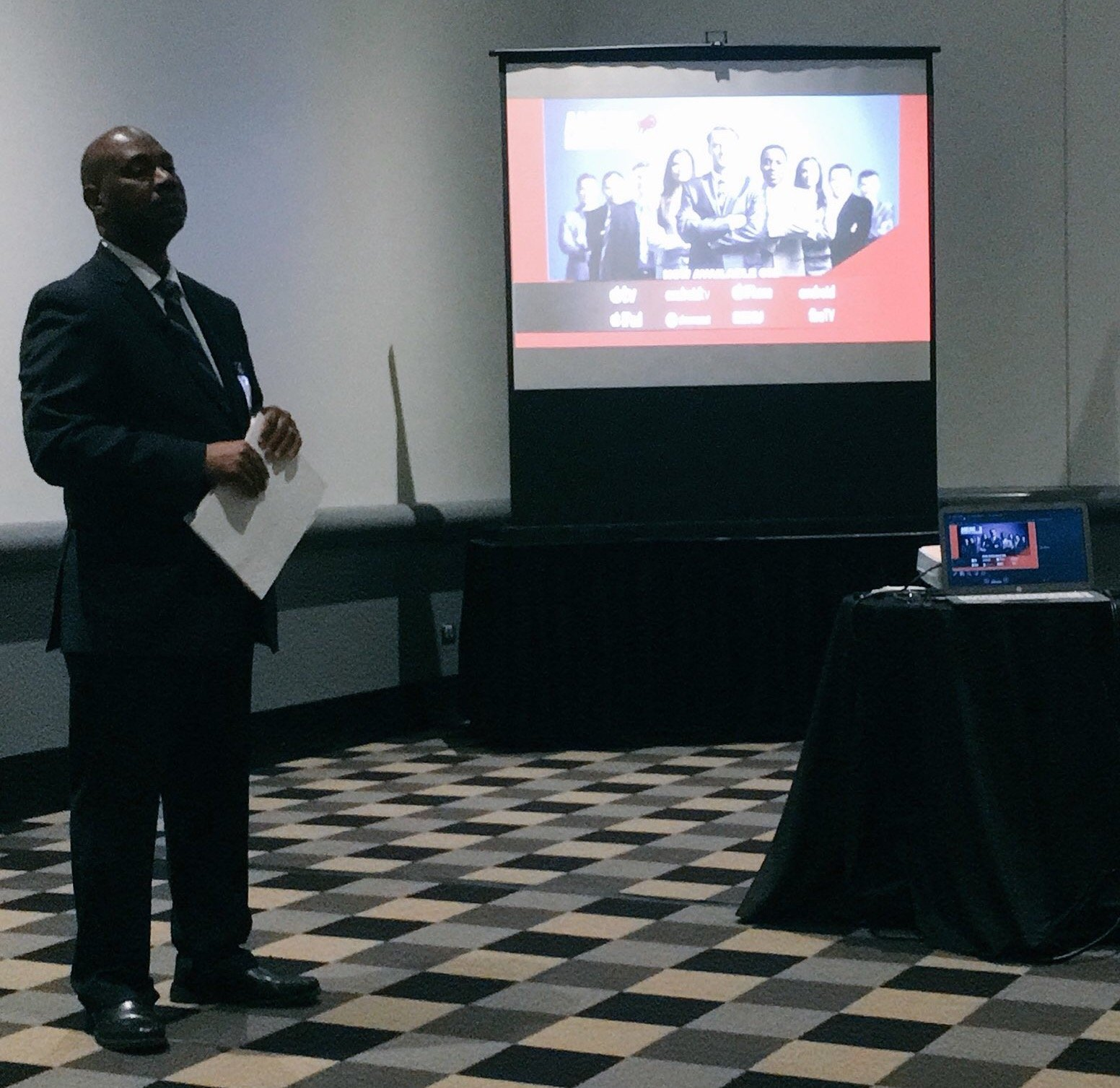 CEO of American Business TV Yusef Muhammad talks about perfecting your elevator pitch