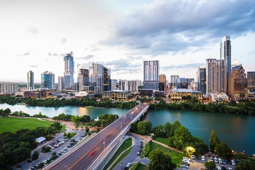 photo of downtown Austin Texas