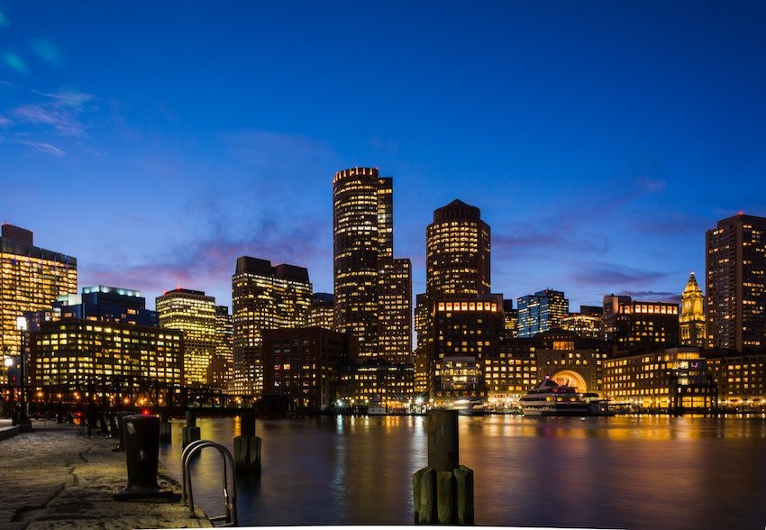 photo of downtown Boston Massachusetts