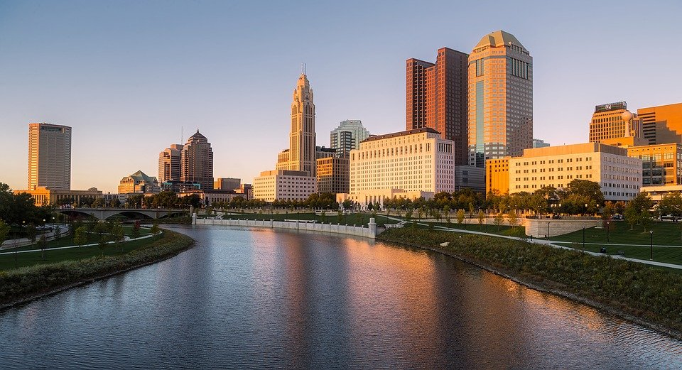 photo of downtown Columbus Ohio