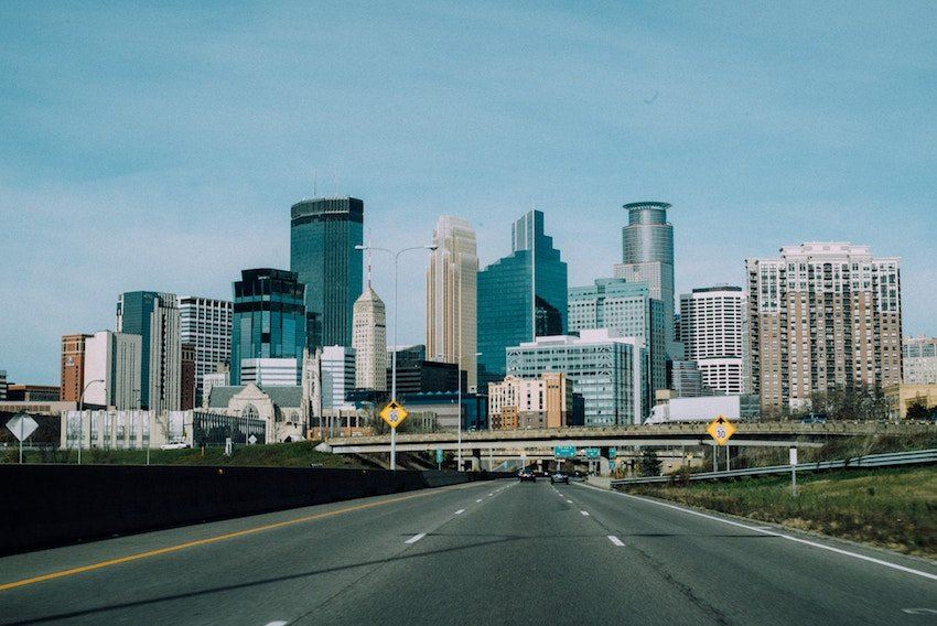 photo of downtown Minneapolis Minnesota