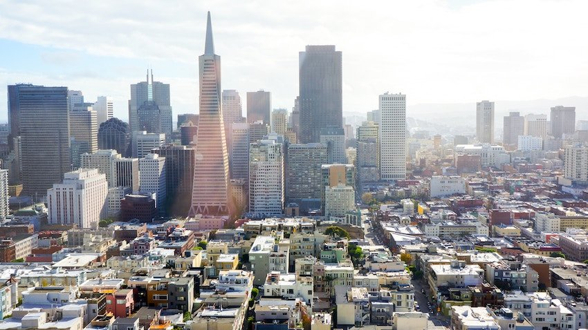 photo of downtown San Francisco California